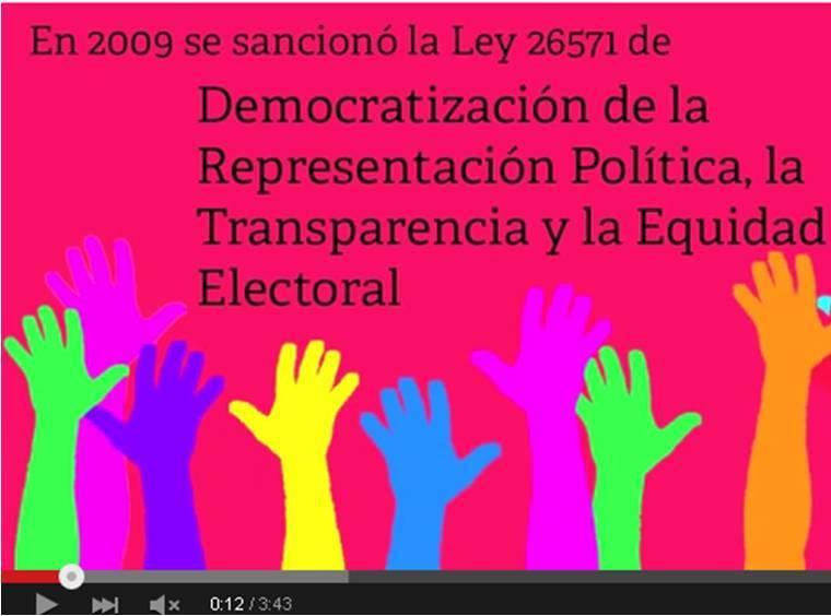 Una Evaluación de la Reforma Política 2011