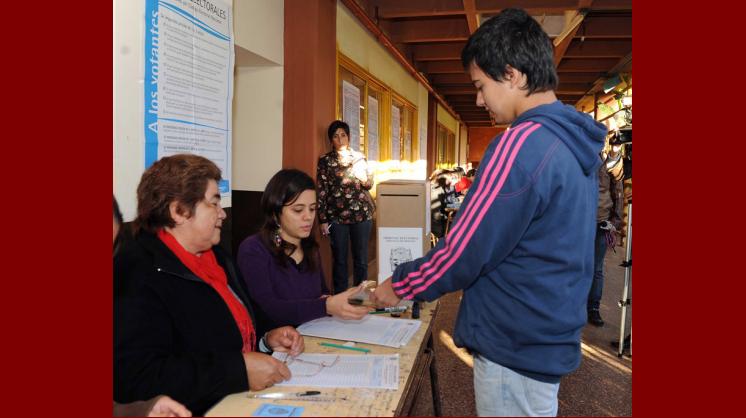 Espíritu adolescente: el voto joven en Argentina